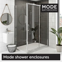 Our Mode shower enclosures