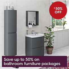Bathroom furniture packages