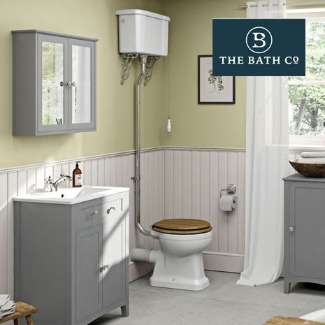 Camberley Grey Bathroom Furniture