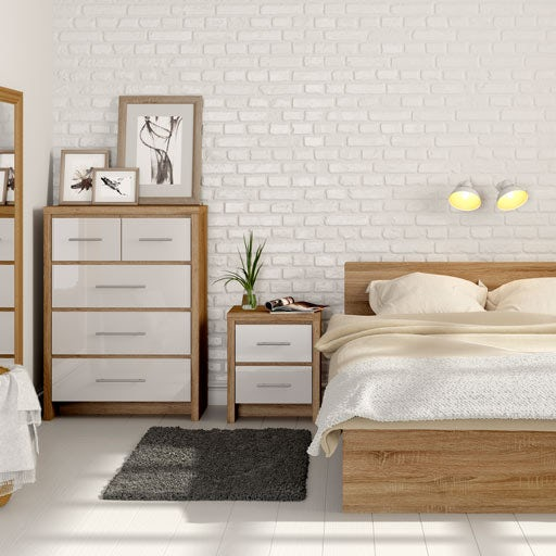 gallery for white oak bedroom furniture
