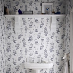 Bathroom and kitchen wallpaper