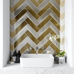 Metallic tile range