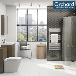 Arden walnut bathroom furniture