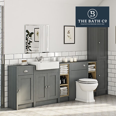 Winchester grey bathroom furniture