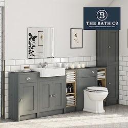 Dulwich grey bathroom furniture