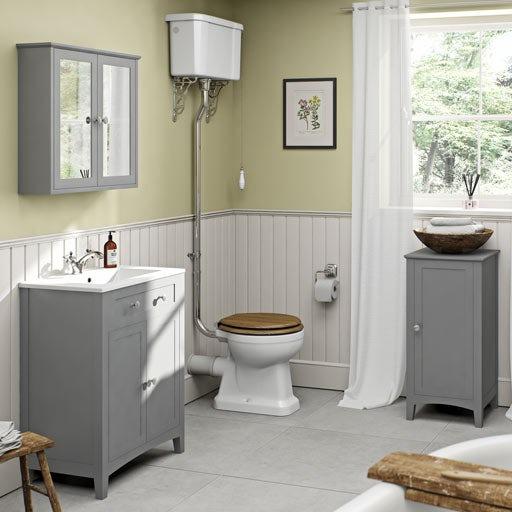 Bathroom Furniture Grey With Unique Creativity In Canada