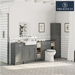Dulwich grey bathroom furniture