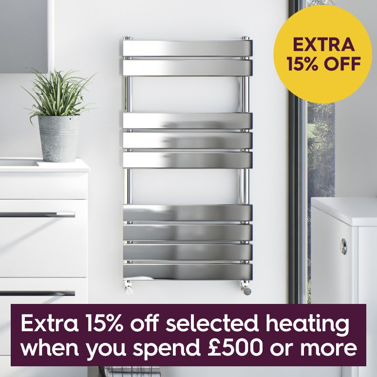 Save 20% on heating when you spend £500