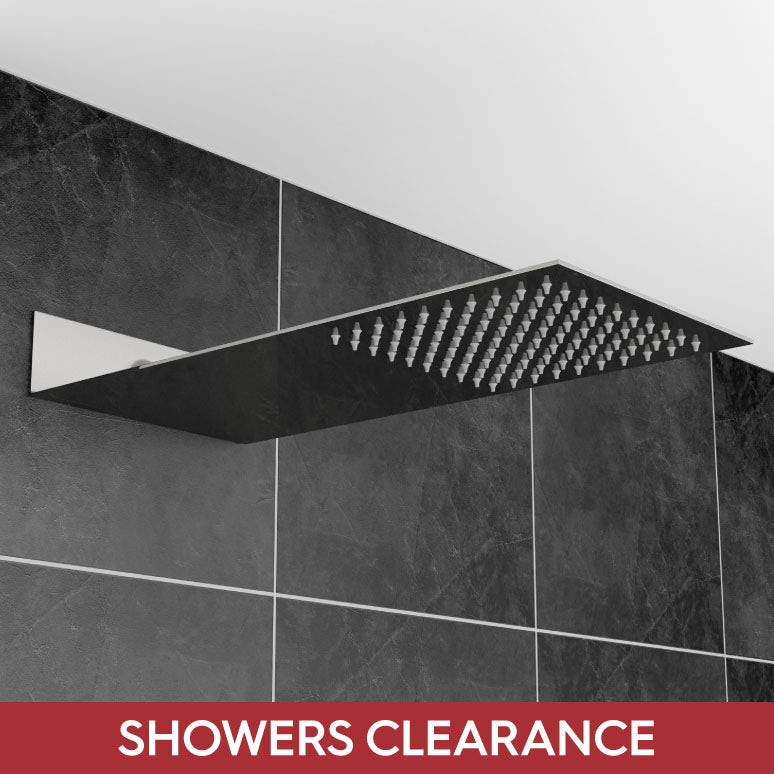 Showers clearance