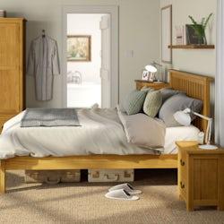 Rome reclaimed pine bedroom furniture