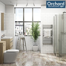 Arden oak bathroom furniture