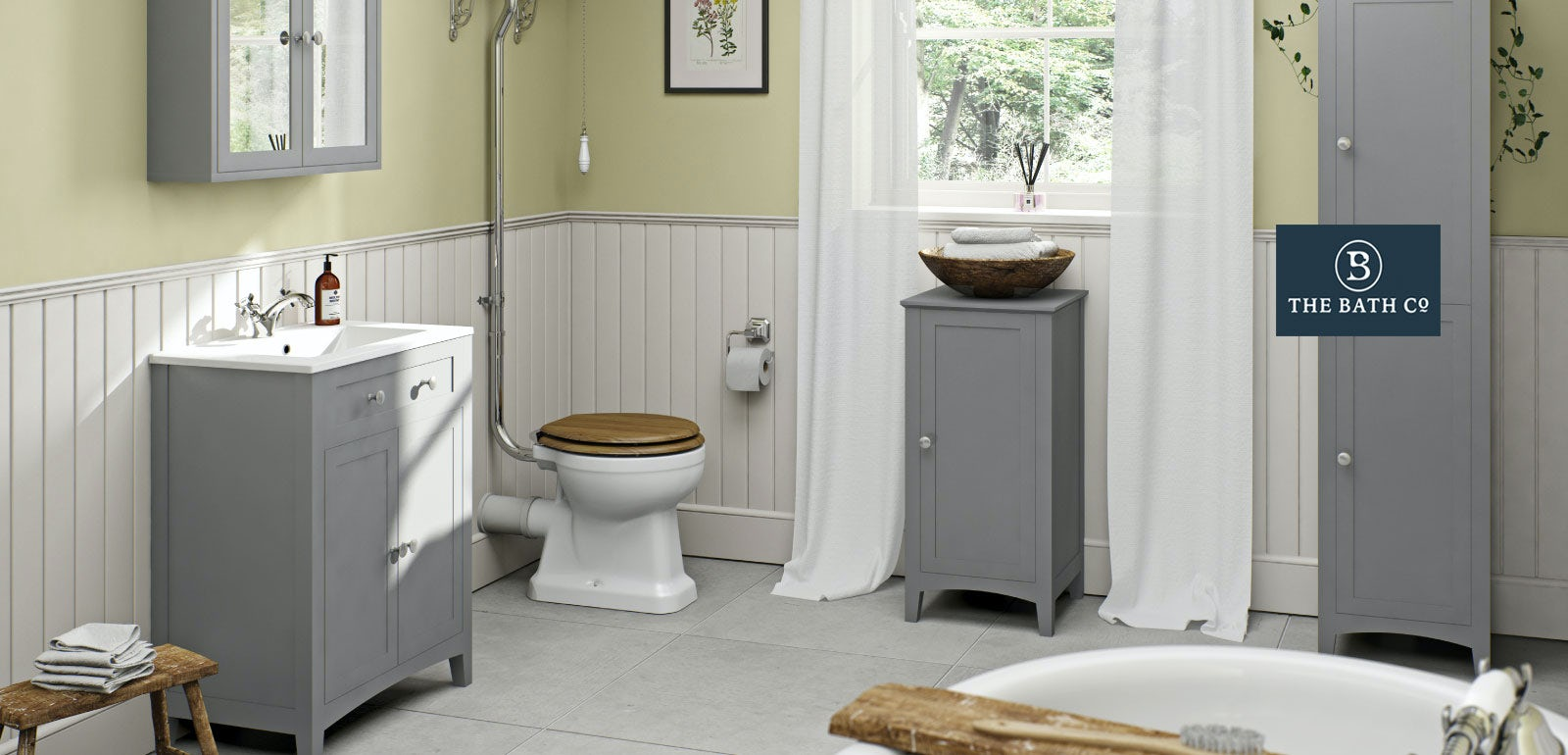 Bathroom Accessories Victoria Plumb camberley grey bathroom furniture | victoriaplum
