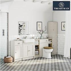 Dulwich ivory bathroom furniture