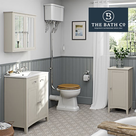 Camberley ivory bathroom furniture