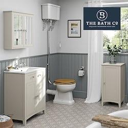 Camberley ivory bathroom furniture