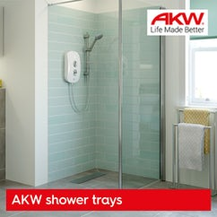 AKW wet room trays