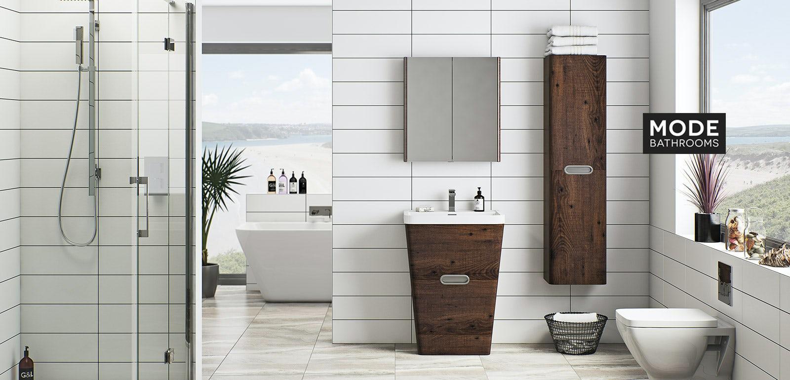 Sherwood Chestnut Bathroom Furniture