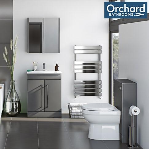 Derwent grey bathroom furniture