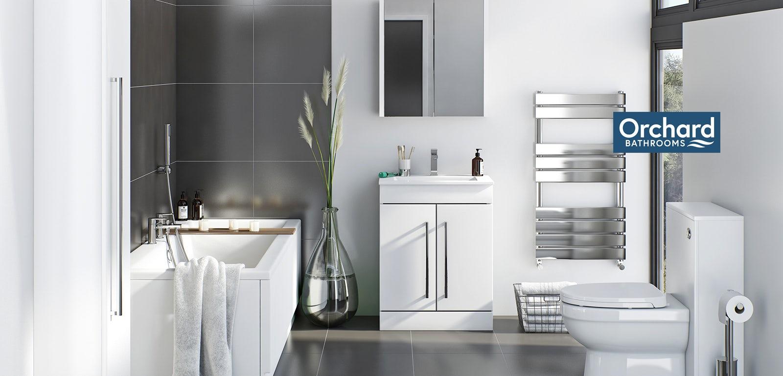 Derwent white bathroom furniture
