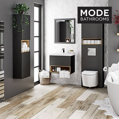 Tate anthracite bathroom furniture