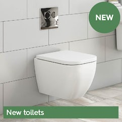 Great deals on new toilets