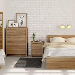 London Oak Bedroom Furniture