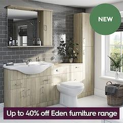 Eden bathroom furniture