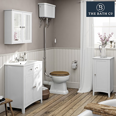 Camberley White Bathroom Furniture