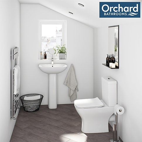 Compact Square Bathroom Suite Range