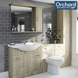 Eden oak bathroom furniture