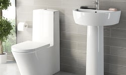Arc bathroom suite range