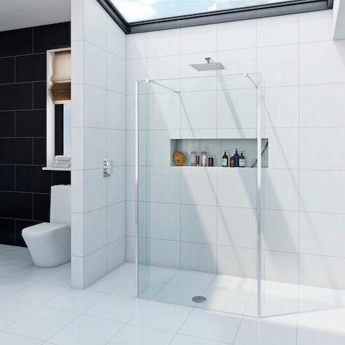 wetroom glass and shower