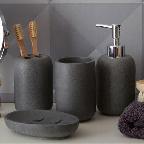 Mineral grey accessory range