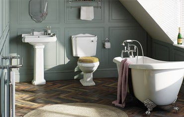 Browse Traditional bathroom suites