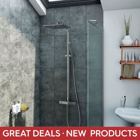 Great deals on new showers