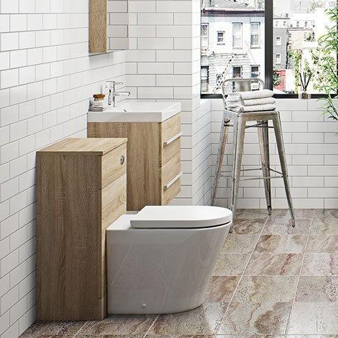 Drift Oak Bathroom Furniture