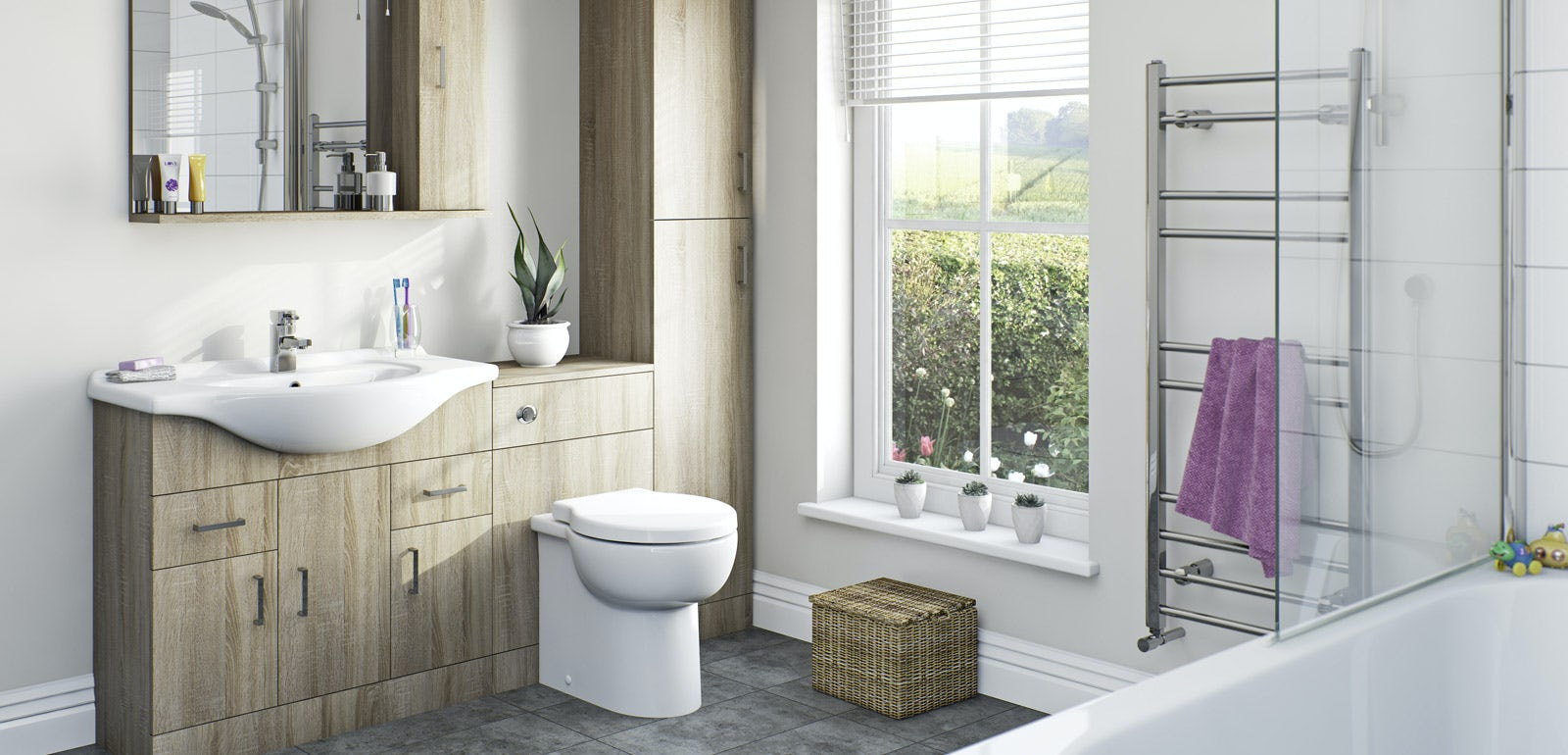 Sienna Oak Bathroom Furniture Victoriaplum Com