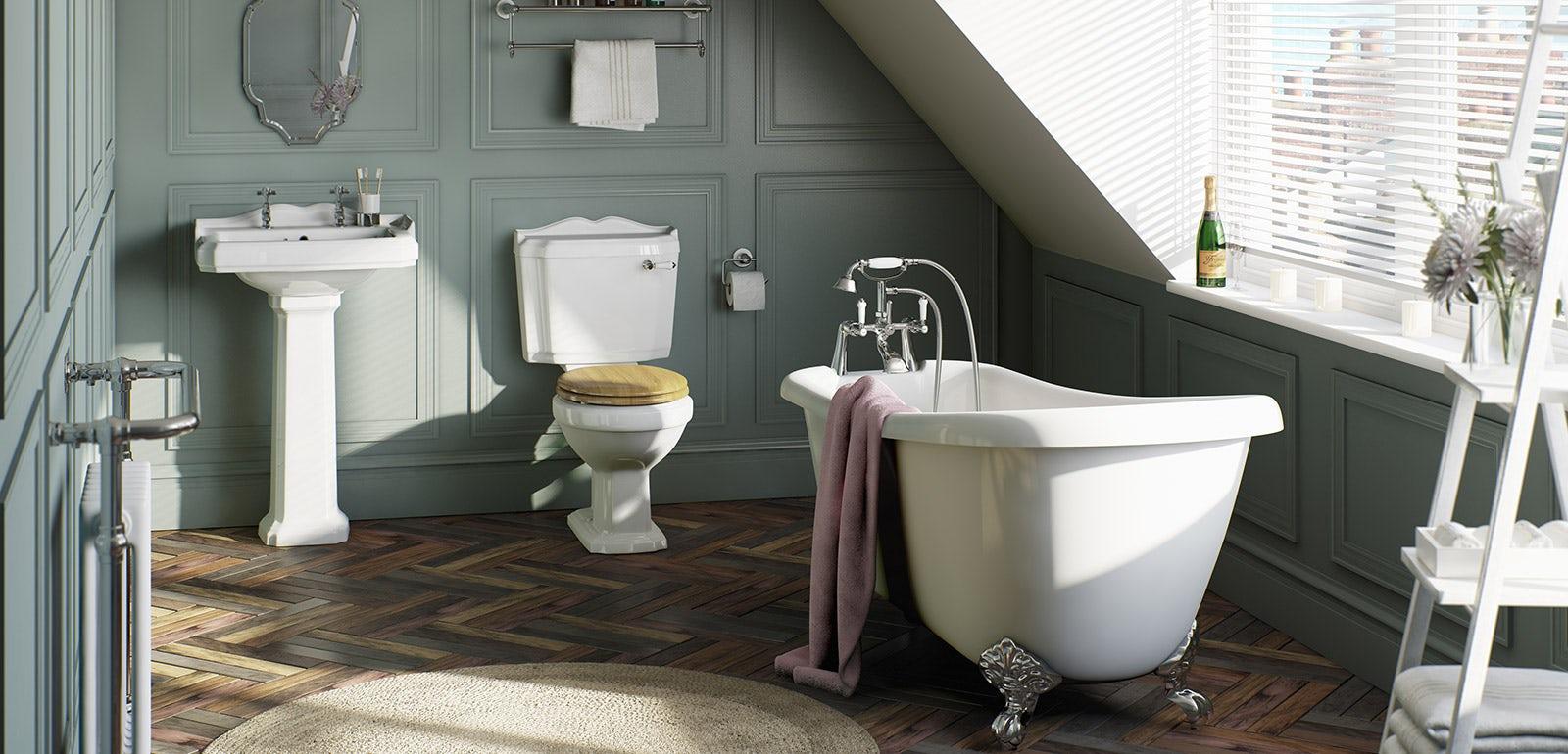 Plumbs bathroom suites - Plumbs Bathroom Suites Winchester Bathroom Suite Range