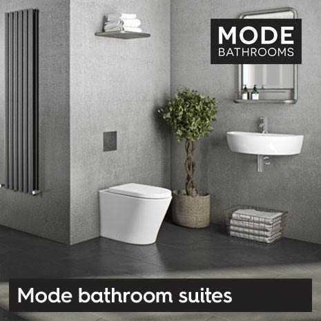 Our Mode bathroom suites