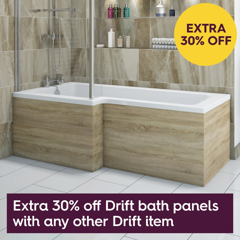 30% off Drift panels with any other Drift item