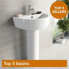 Top 5 basins