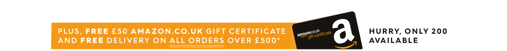 Free £50 Amazon Gift Certificate on orders over £500