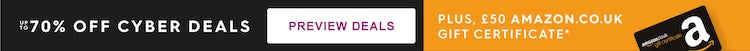 Cyber Deals up to 70% off
