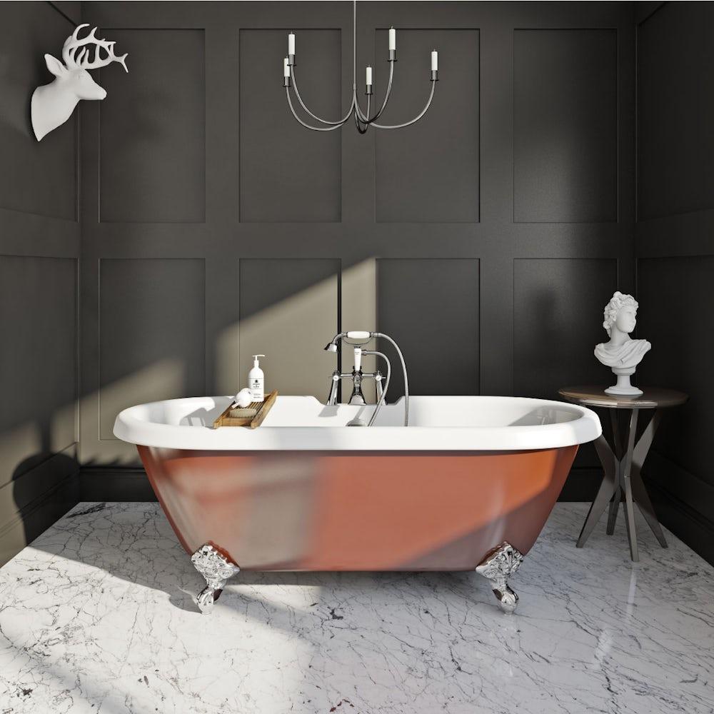 Shakespeare Freestanding Bath Copper