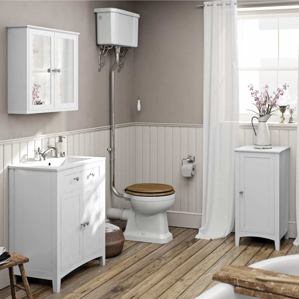 Camberley White Furniture Range