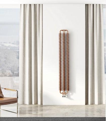A Terma Ribbon vertical radiator