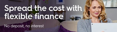 Spread the cost with flexible finance