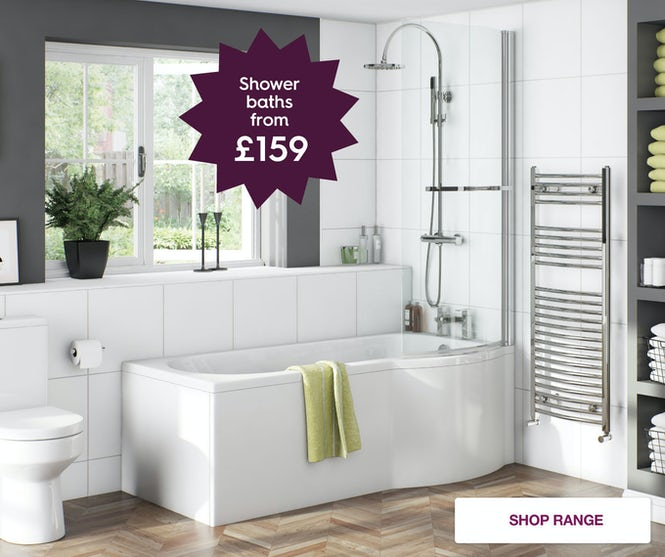 Shower baths from £199