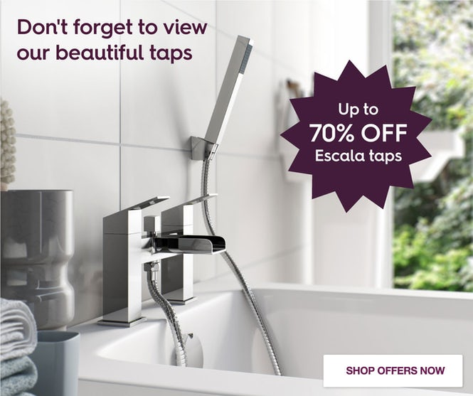Up to 70% off Escala Taps