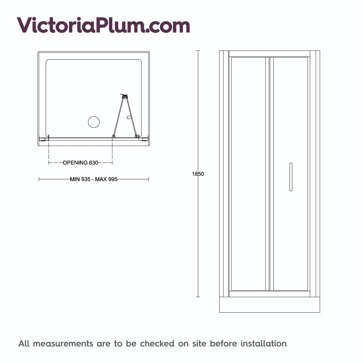 4mm bifold shower door 1000 for 1000 bifold shower door
